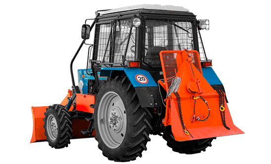 Трелевочный трактор на базе МТЗ-82