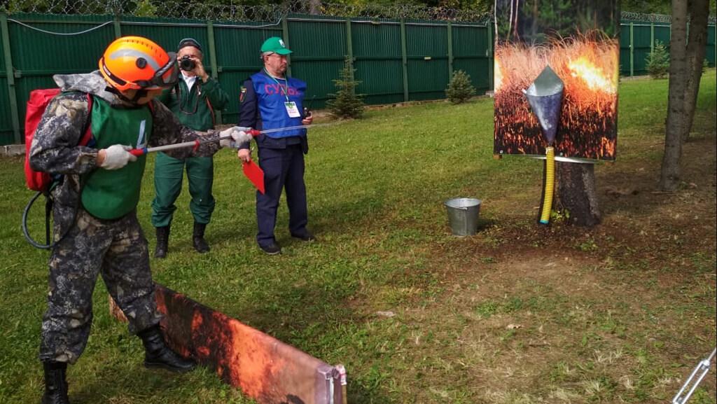 V Всероссийский конкурс «Лучший лесной пожарный - 2019»