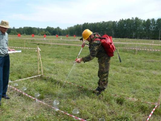 Результаты конкурса «Лучший лесной пожарный»