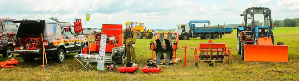 Компания Лесхозснаб приняла участие в  выставке «День поля-2015»