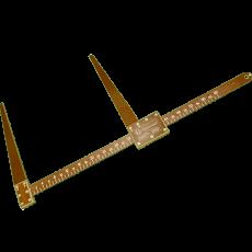 Вилка мерная текстолитовая 600 мм
