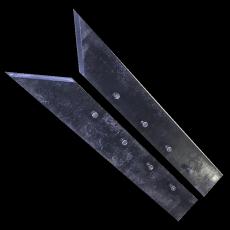 Комплект лемехов плуга ПКЛ-70
