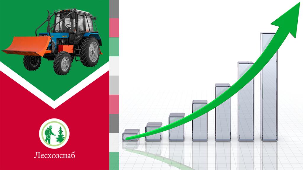 Изменение цен на Универсальный лесопожарный модуль УЛПМ-82Е и Трелёвочный трактор