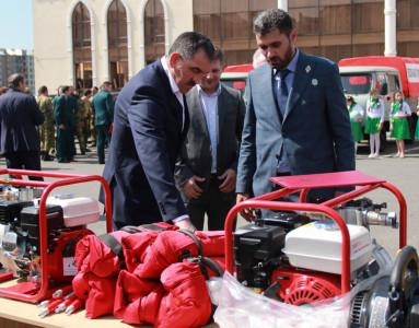 Ингушетия в рамках нацпроекта «Экология» получила 11 единиц лесопожарной и патрульной техники