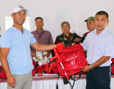 Усиление пожарной безопасности в лесах Западного Тянь-Шаня