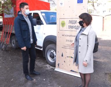 Хакасия получила подарок от всемирного фонда дикой природы